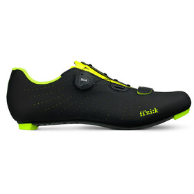 Fizik Tempo Overcurve R5 Zapatillas Racing Bike, black/yellow fluo